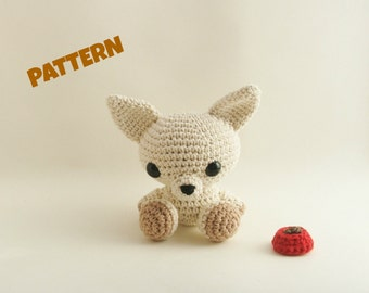 Chihuahua Pattern / Halloween Pattern / Amigurumi Pattern / Crochet Dog Pattern / Crochet Animal / Dog Pattern / Kids Toys / Crochet Pattern