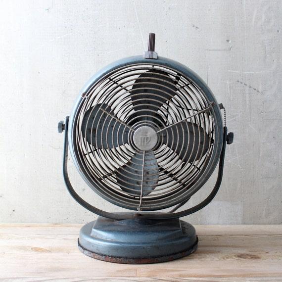 Vintage Industrial Style Fan