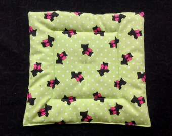 Scottie dog Pooch Pad  for American Girl doll house pets