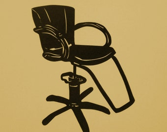 Barber Shop Chair Clip Art for Pinterest