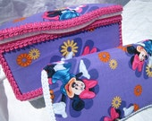 CLICK for MORE DESIGNS - *Minnie Mouse, Strawberry Shortcake, Tinkerbell, Princess, Hello Kitty* Decorative Nursery and Travel Wipes Cases