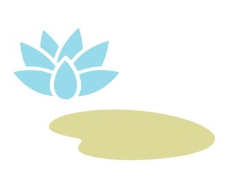 Lily Pad Wall Stencil for Painting Kids or Baby Room Mural (SKU338-istencil)