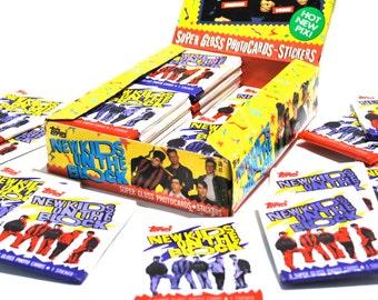 36 New Kids On The Block Wax Packs 1989