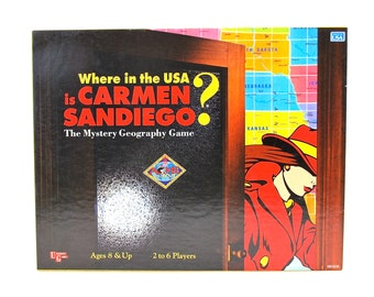 Where in the USA is Carmen Sandiego? Game