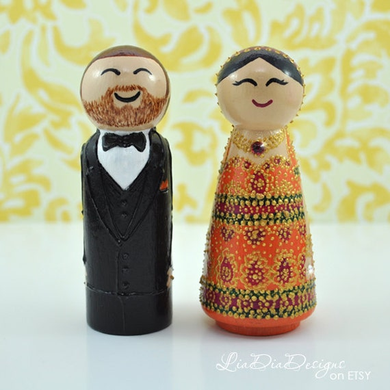 Lia Dia Designs Wedding Toppers