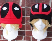 Deadpool Hats - Adult-Teen-Kid - A winter, nerdy, geekery gift!