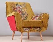 Bay armchair - gobelin love