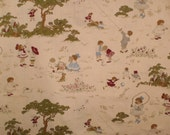 Children at play cotton fabric  by Marcus Brothers F-91