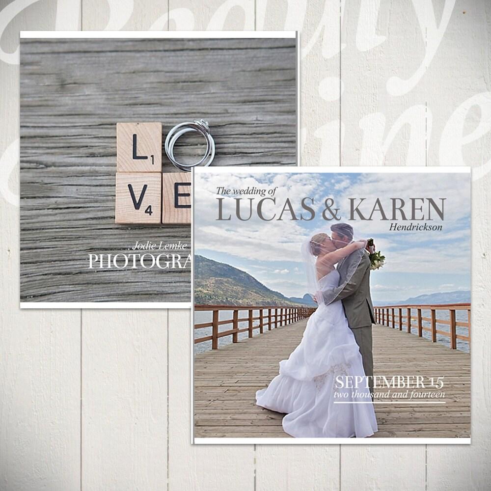 wedding photo album wedding photo book Wedding Album Template Forever Wedding Book Template for Photographers