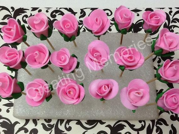 cake decorating rose buds