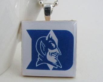 Duke Blue Devils Pendant