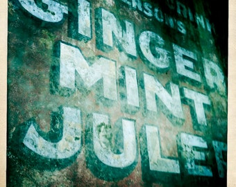 New Orleans Ginger Mint Julep Ad 5x5 Hipstamatic Photo