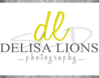 Professional Premade Logo / Photography Watermark  -  Small Business