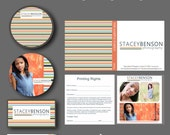 INSTANT DOWNLOAD : Lines Mini Photography Branding Set