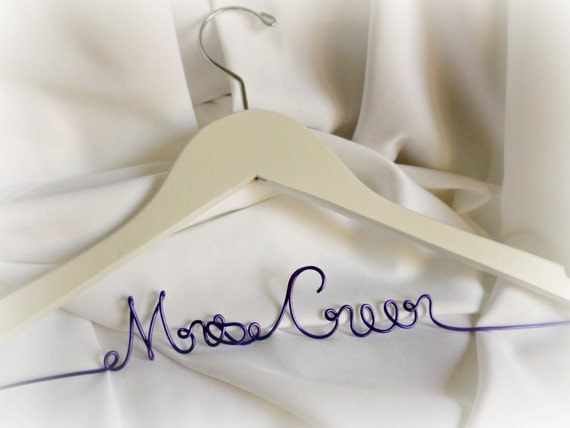Wedding Coat Hanger, Personalized Gifts