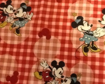Disney Custom Mickey Minnie Fabric