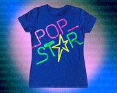 Pop Star t-shirt-neon colors