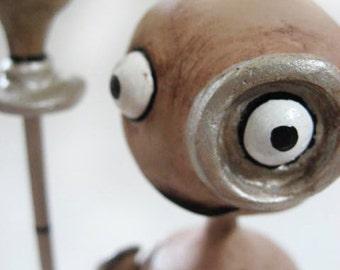 Steampunk Figurine - 9 Movie Inspired - Steampunk Doll