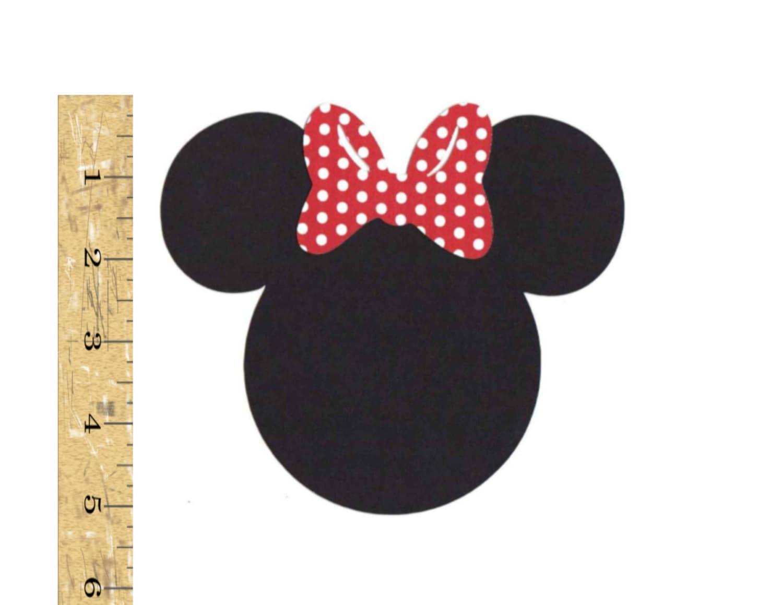 Disney Die Cuts 5 Minnie Mouse Head by busybeecraftsandmore