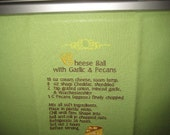 Cheese Ball Recipe Towel