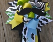 mustache baby shower-baby shower theme-baby shower corsage
