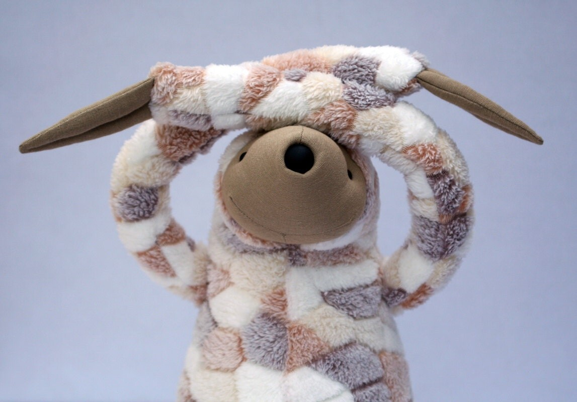 Big Spotty Sloth, stuffed animal toy for children