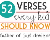 52 Verses Every Kid Should Know