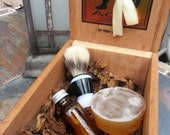 GENTLEMAN Shaving Essentials Kit by Skin Candy Soap Co. All Natural & Organic