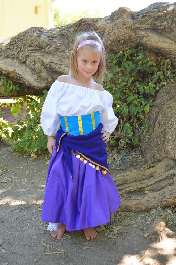items similar to esmeralda costume adult dress set on etsy