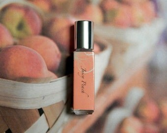Juicy Peach Perfume Oil - Ripe Juicy Peach Roll On Perfume - 8mL