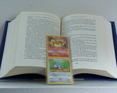 Pokemon Boomark - Pokemon - Pokemon Cards - Pokemon Trading Cards - Laminated Bookmark - Upcycled Bookmark