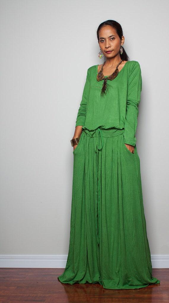 green maxi dress plus size soft green long sleeve dress