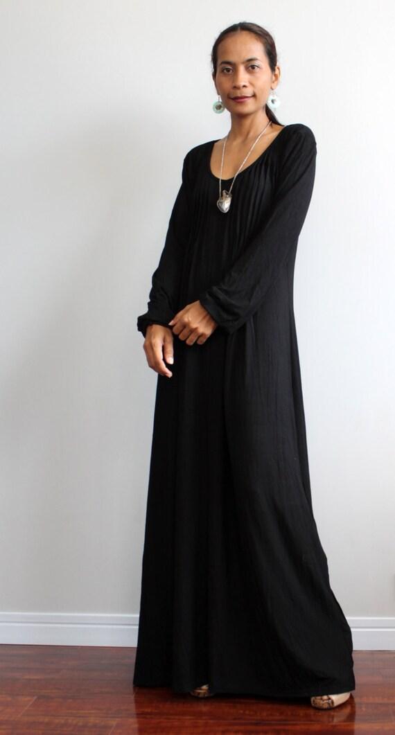 maxi dress long sleeve : autumn thrills collection no.2