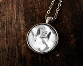 Custom Photo Necklace: Personalized Photo Jewelry. Personalized Photo Pendant. Handmade Jewelry. Lizabettas