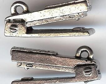 OFFICE STAPLER Charm. Pewter. 3D Staple Gun. Made in the USA.