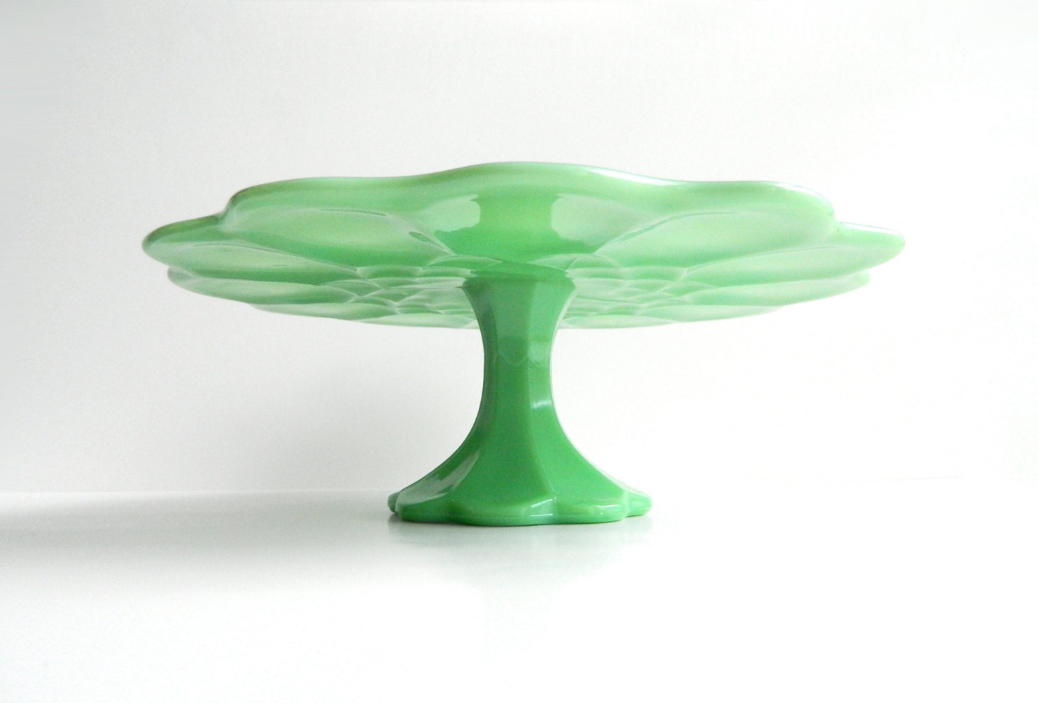 Fire King Cake Stand