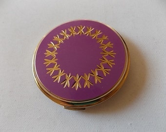 Stratton Mauve Gold Bright Compact