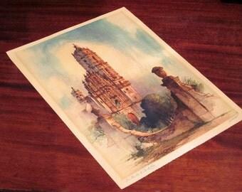 Vintage Al Mettel Talio-Crome Print