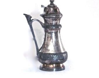 Vintage Silver Pitcher- Silver Creamer- Silver Vase by Castleton Silver Company