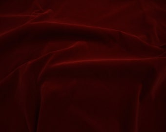 "Wine Nylon Plush Velvet Poker Table Upholstery Fabric per yard 60"" Wide"