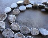 Labradorite Teardrop 18x13mm, 4 pcs, Energetic Gemstones