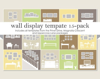 Wall display templates privet drive - Photo wall display template ...