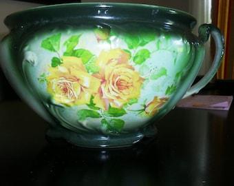 Antique Chamber Pot Circa 1865 Reduced Price