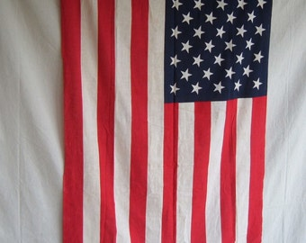 Vintage US Flag Stars and Stripes Star Spangled Banner Patiotic