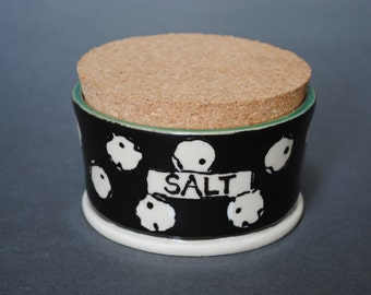 Covered Salt Container