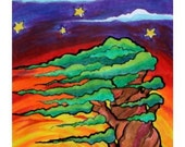 We'Moon Art, Tree of Life, Prismacolor, 2006, Giclee print