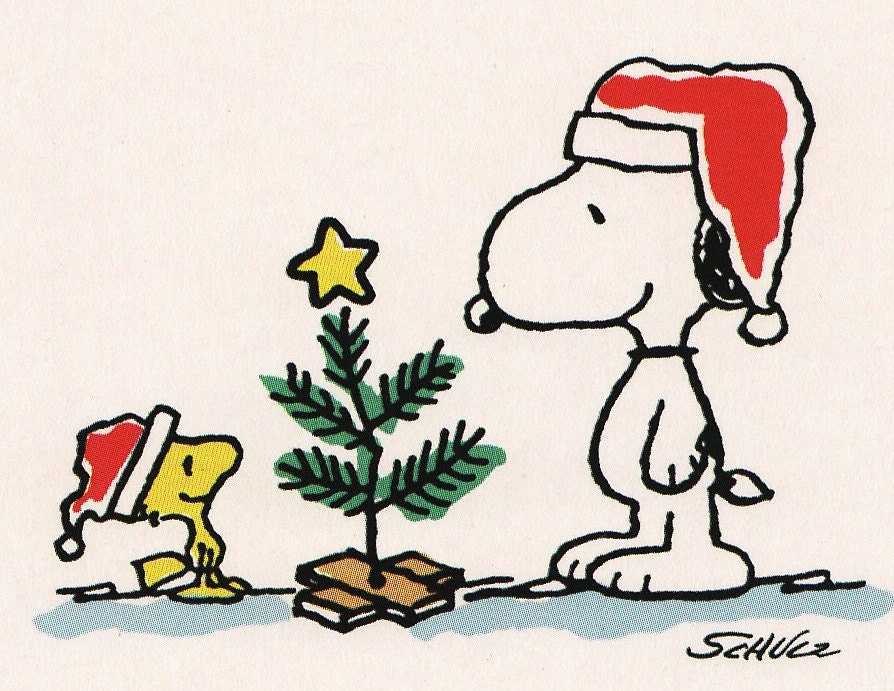 snoopy woodstock christmas coloring pages - photo#27