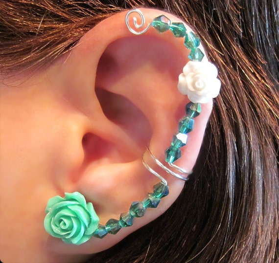 "Items similar to Non Pierced Ear Cuff ""Forever Beautiful ..."