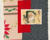 Ho Ho Ho: Collage Card