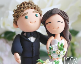 Custom Cake Topper- Happily ever after